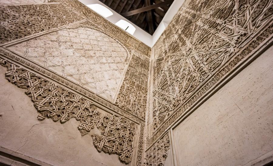 Decoración mudéjar de la sinagoga. Córdoba