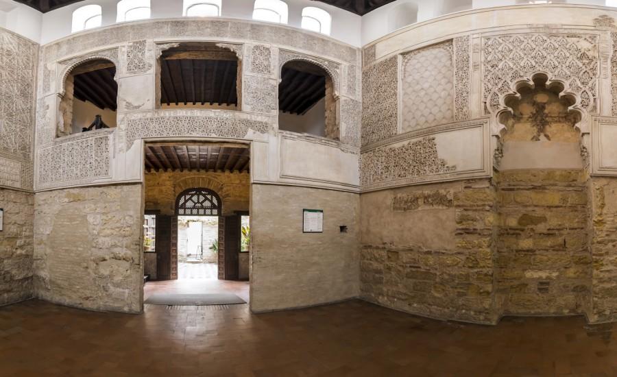 Sala de oración de la Sinagoga. Córdoba