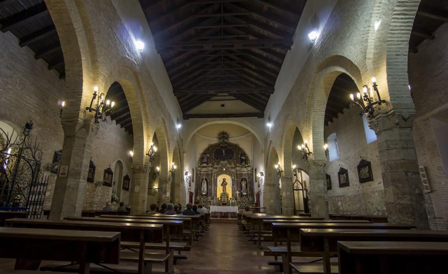 Parroquia de Santiago. Restos materiales de la antigua sinagoga. Lucena