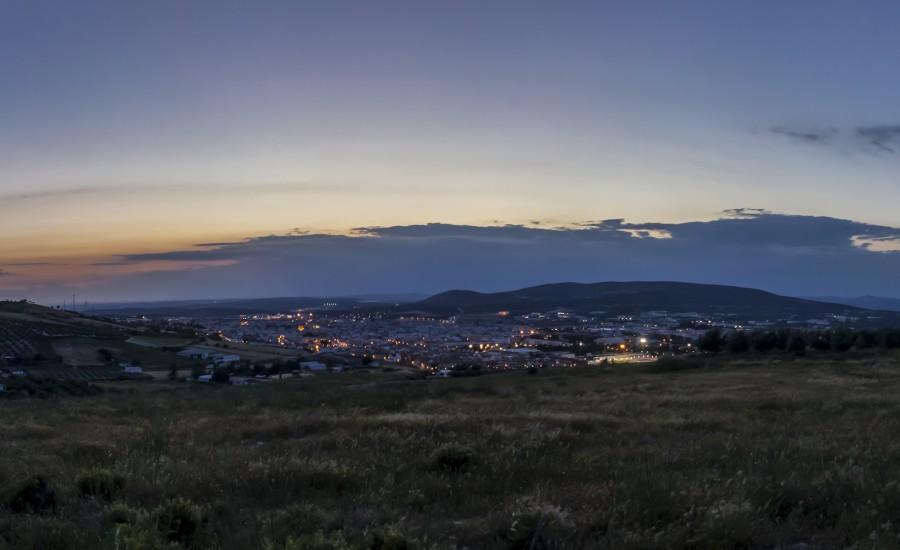 Panorámica de la ciudad de Lucena