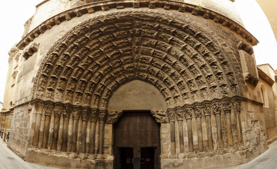 Puerta del Juicio de la S.I. Catedral de Tudela