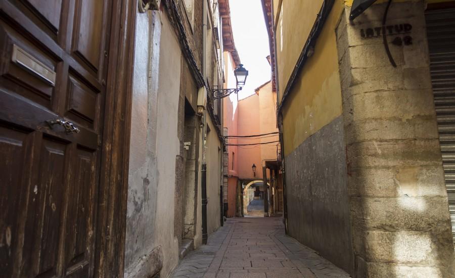 Calle de Matasiete. Judería de León