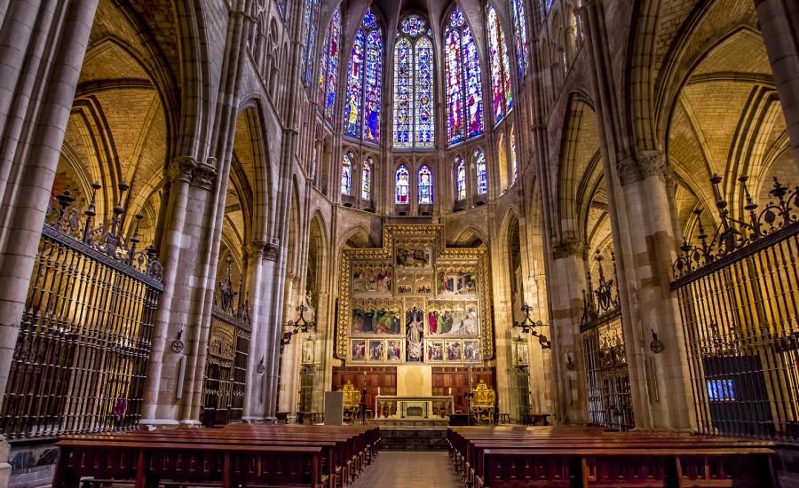 Catedral de León. Nave central