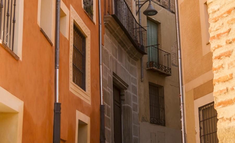 Calle Judería Nueva, Segovia
