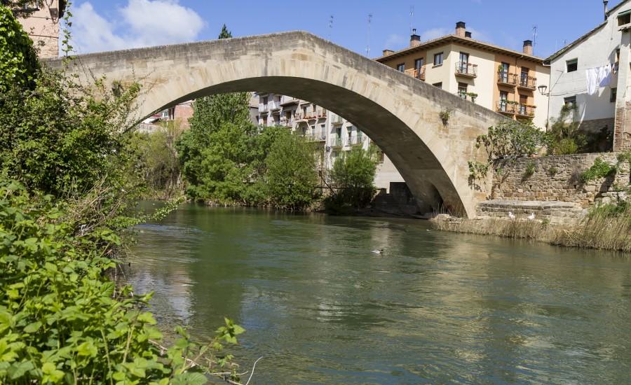 Puente de la Cárcel. Estella