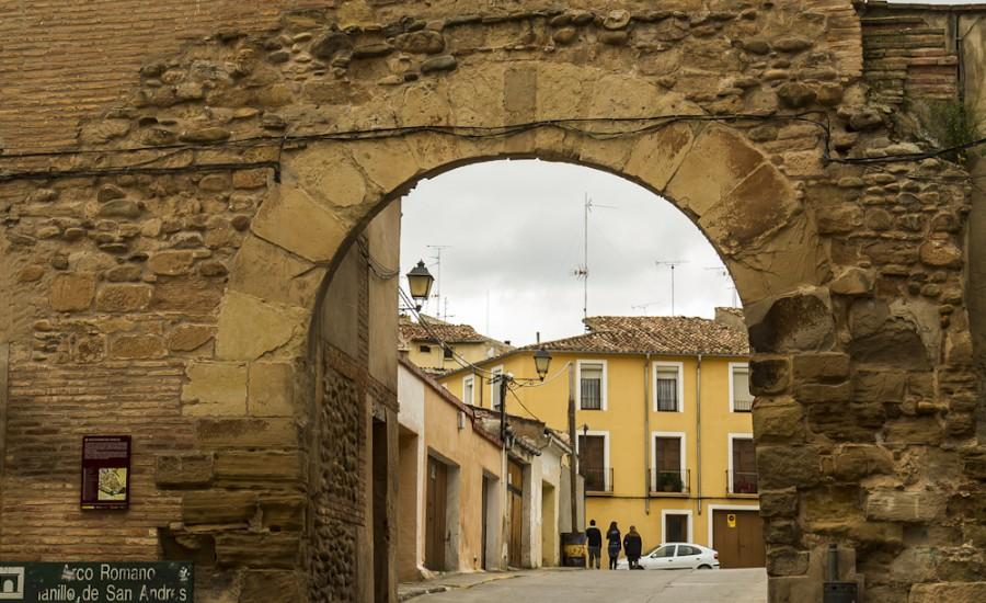 Arco romano del Planillo de San Andrés. Calahorra