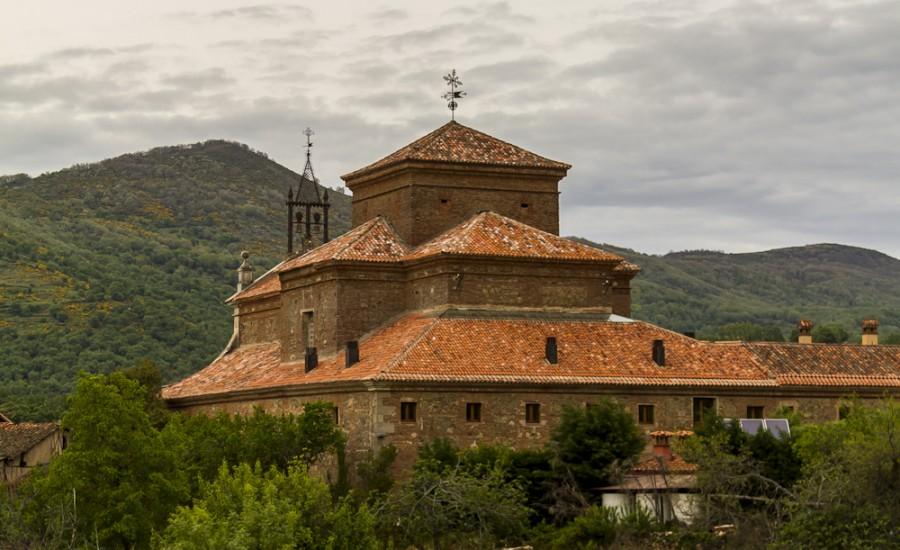 Vista trasera del Convento. Hervás