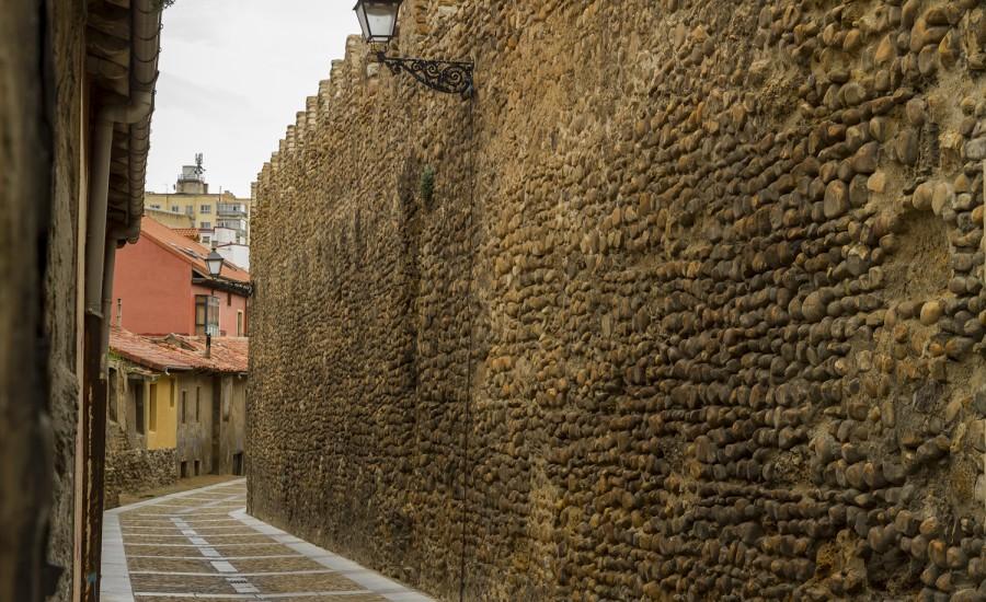 Cerca Medieval. León. Horizontal