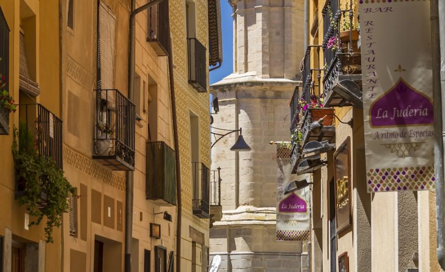 Calle Judería Vieja de Segovia
