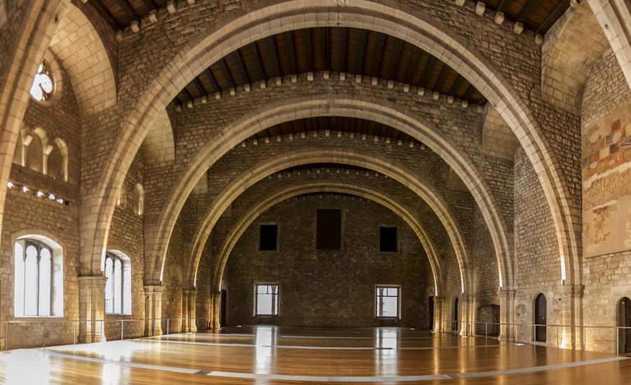 Saló del Tinell. Barcelona