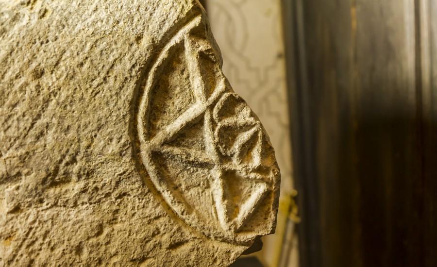 Fragmento Estrella de David. Tudela