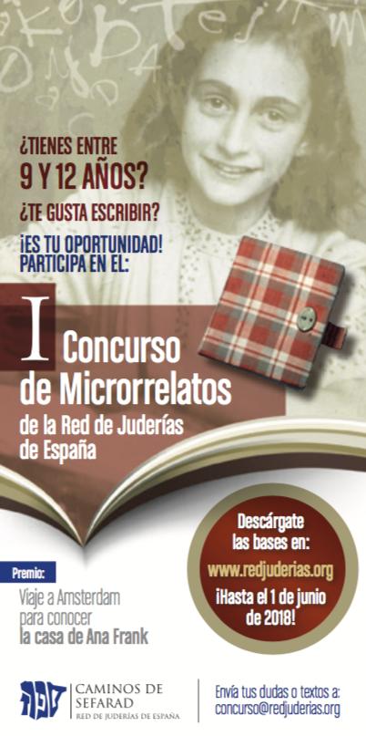 Concurso microrrelatos Ana Frank