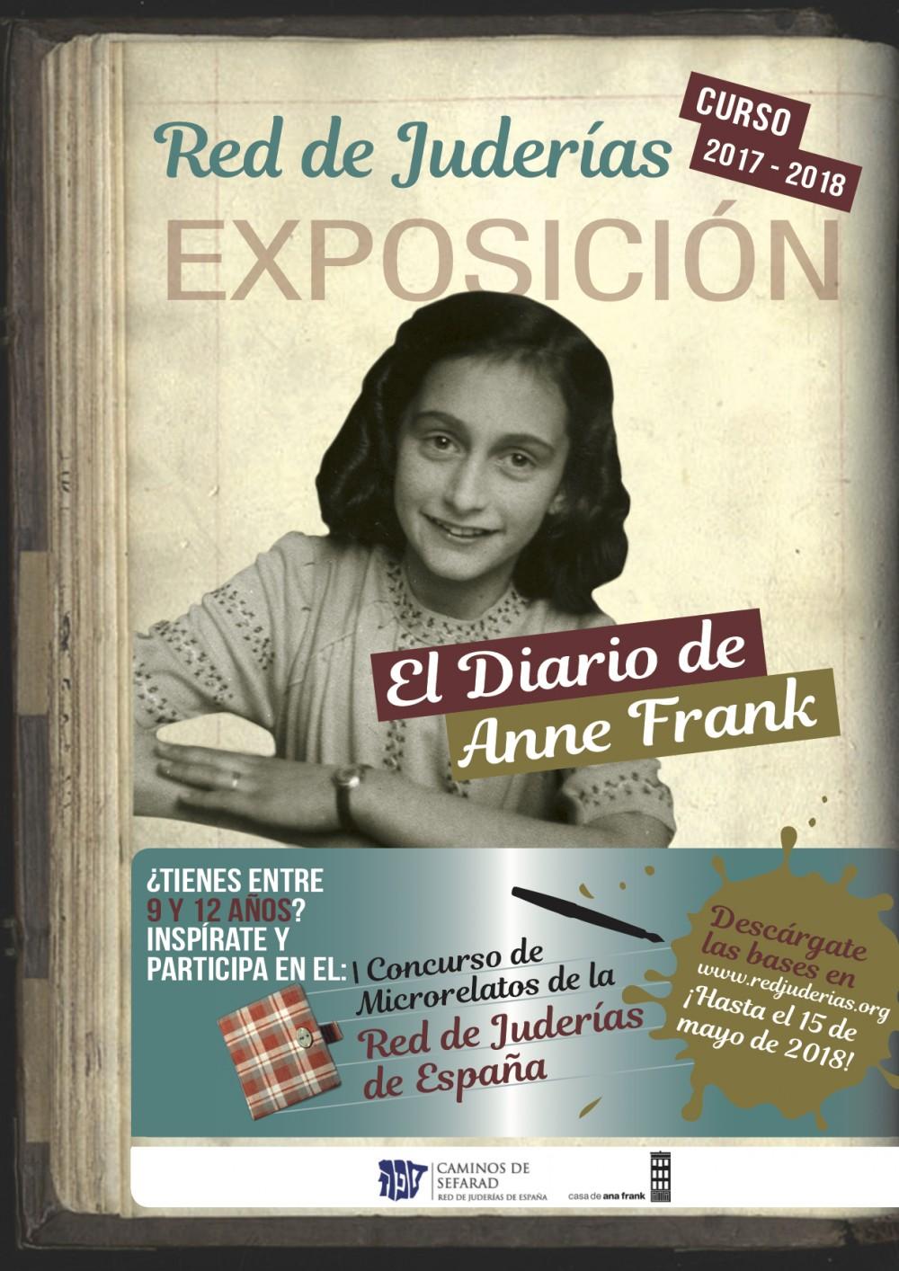 afiche Ana Frank general