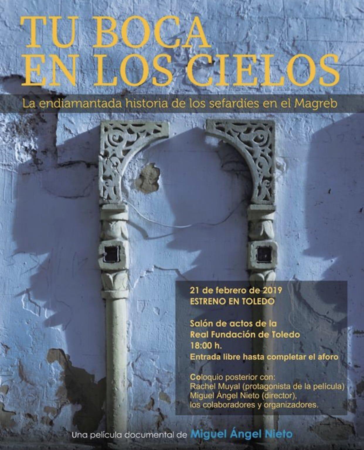 """Estreno en Toledo del documental """"Tu boca en los cielos"""""""